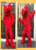 Elmo-red monster